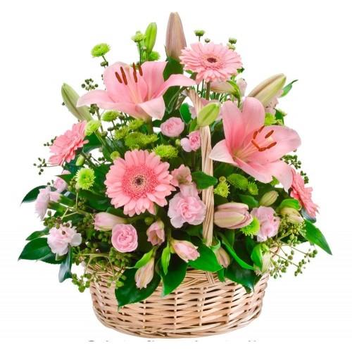 Cesta de flores Lérida